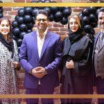حضور حجت اشرف زاده در مراسم افتتاحیه کلینیک پایتخت زیبایی ایران icc